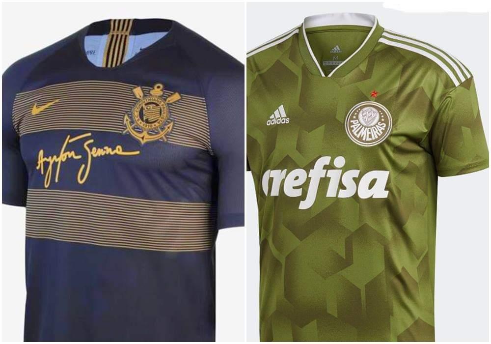 fb7325fe16 Site coloca camisa do Corinthians entre as mais bonitas e a do Palmeiras  entre as mais feias