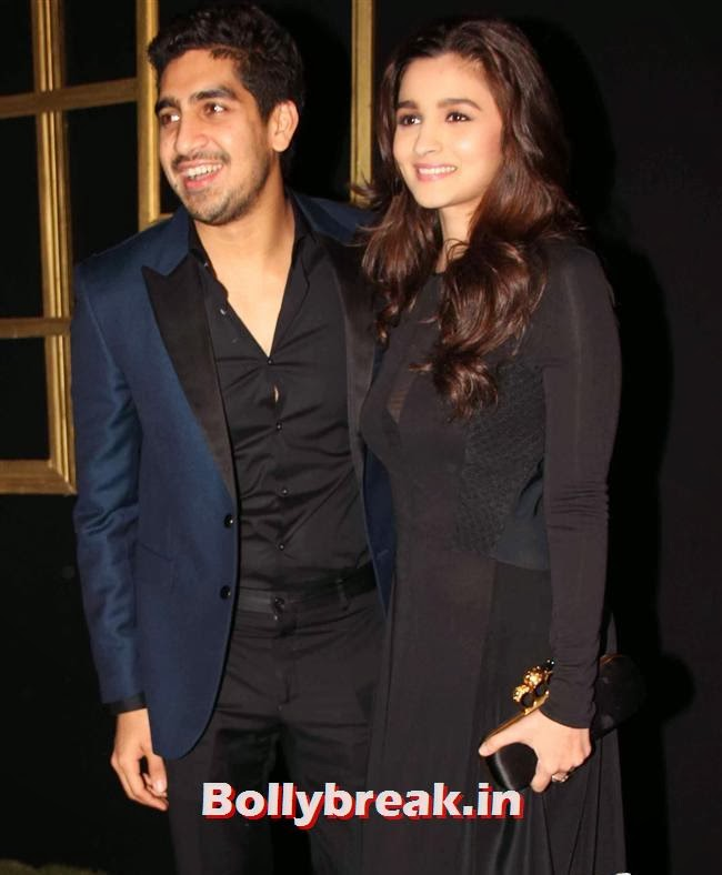 Ayan Mukherjee and Alia Bhatt, All Bollywood Celebs at Deepika Padukone Golden Party