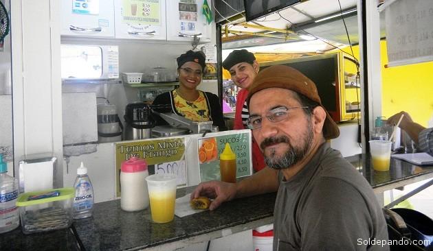 Periodista salió a Brasil como perseguido político
