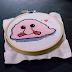 Blobfish Cross Stitch