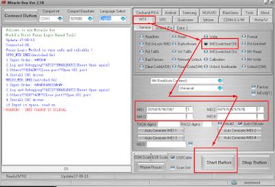 Cara Write Imei Lenovo A859 Via  Miracle Box 2.58 Crack
