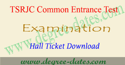 TSRJC hall tickets download 2017 tsrjdc.cgg.gov.in hall ticket