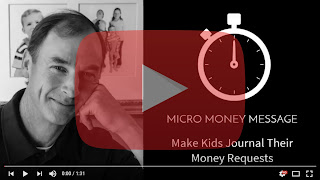Make Kids Journal Their Money Requests Video Player