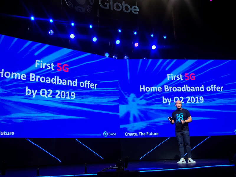Globe's 5G Technology Set to Arrive in PH by Q2 2019