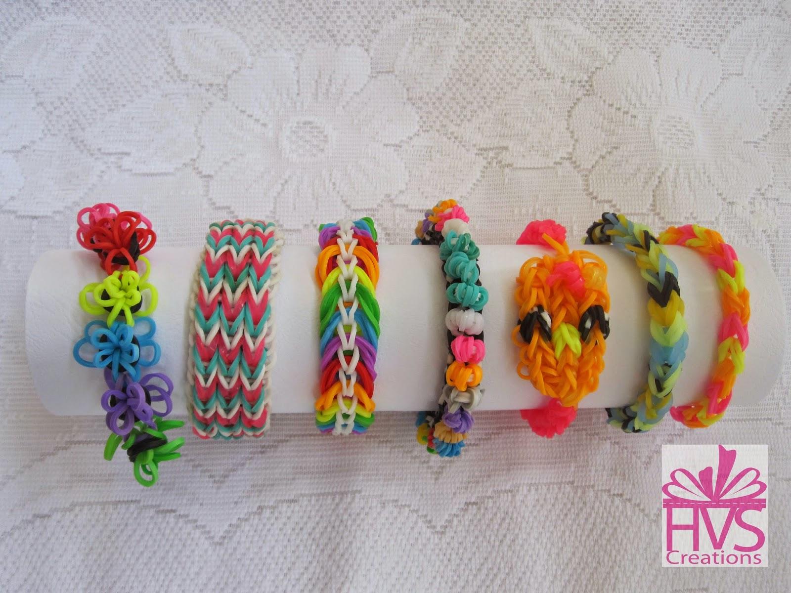 Rainbow Loom Creations Hvs Creations