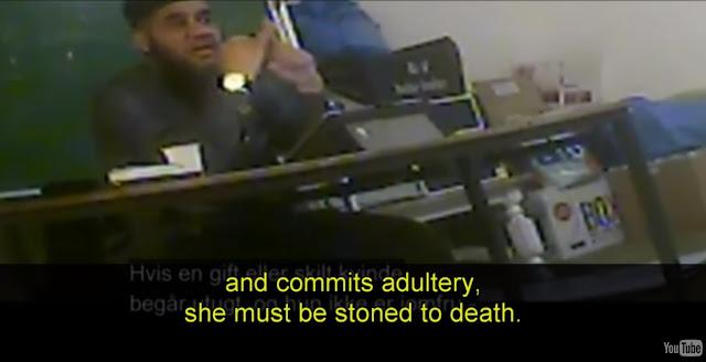 Ενσωμάτωση στην Δανία;;; Το Τζαμί θα ενσωματώσει τους Δανούς στο Ισλάμ, λιθοβολώντας τις γυναίκες που διαπράττουν μοιχεία...