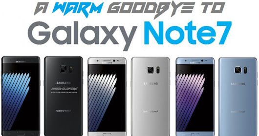 Goodbye Galaxy Note 7, But What's Next?