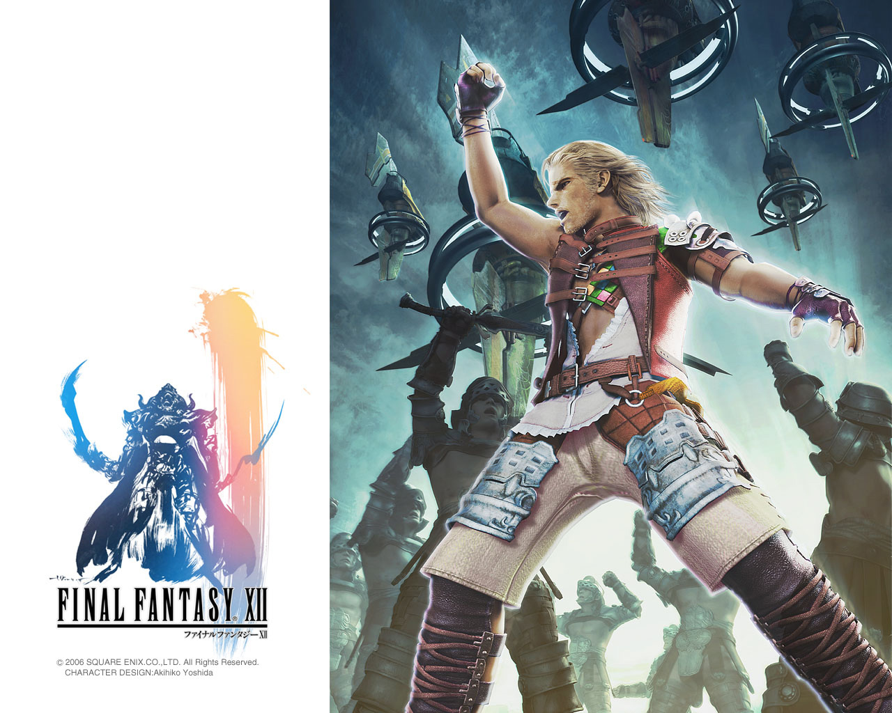 Final Fantasy 12 Wallpaper: Persona Group World: Manski's Final Fantasy XII:The Truth