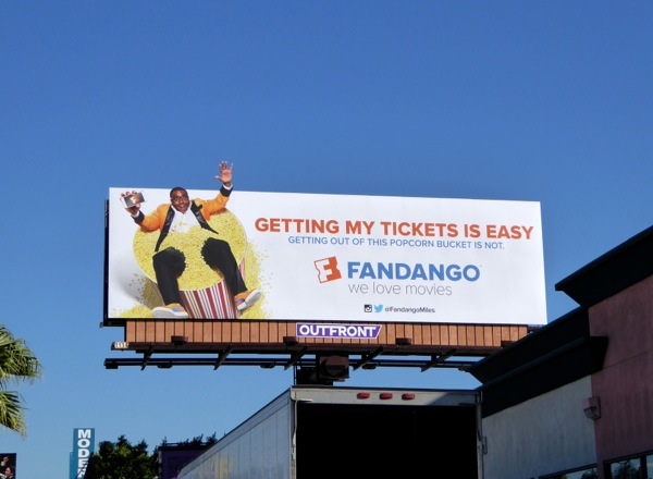 Fandango Getting tickets is easy billboard
