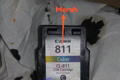 Isi tinta warna Printer Canon mp287