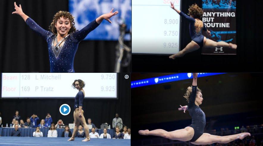 Katelyn Ohashi, la ginnasta diventata virale per un 10 perfetto.