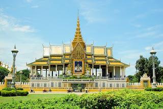 Places Royal Palace Phnom Pehn