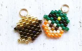 Bead Crumbs patterns. Leprechaun and Pot of Gold