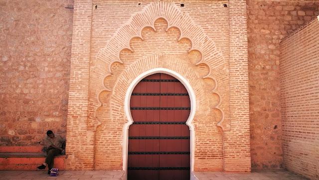 Brama boczna meczetu Kutubijja, Marakesz, Maroko