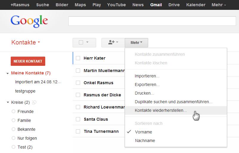 google telefonnummer deutschland