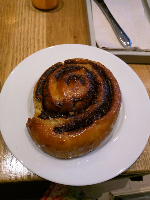 Chocolate, Hazelnut swirl at Sister Sadie in Dublin