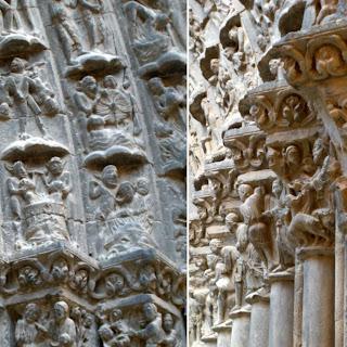Catedral; Puerta del Juicio Final; Tudela; Navarra; Nafarroa