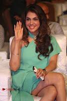 Actress Isha Koppikar Pos in Green Dress at Keshava Telugu Movie Audio Launch .COM 0042.jpg