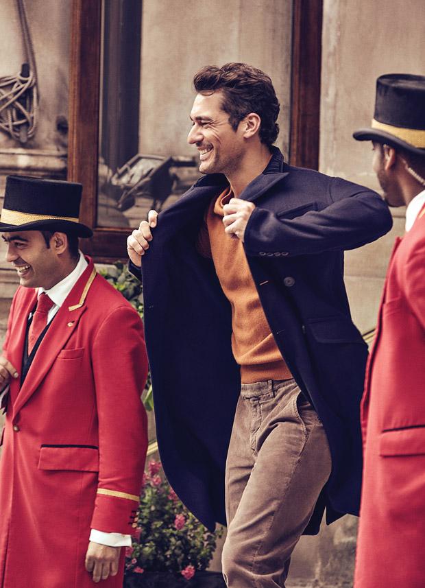 FDavid Gandy, GQ, GQ Méjico, moda hombre, cover, Richard Ramos, Alfonso Parra, Fernando Carrillo, Lorna Mcgee, Larry King, English Gentleman,