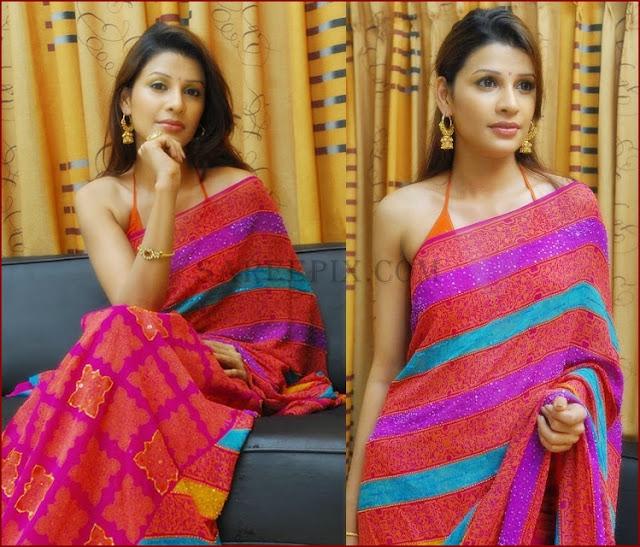 Avanti Kapoor In Pink Designer Saree