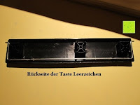 Rückseite Taste: Logitech K200 Tastatur USB schnurgebunden schwarz OEM (deutsches Tastaturlayout, QWERTZ)
