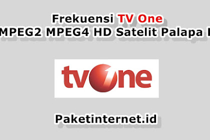 √ Update Frekuensi TV One Terbaru Januari 2020 MPEG2 MPEG4 HD Mhz