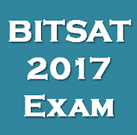 BITSAT 2017 Engineering Entrance Exam