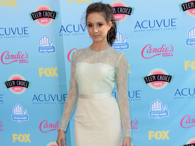 troian-bellisario-in-nice-dress