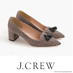 Kate Middleton J. Crew Avery Heels in Tweed