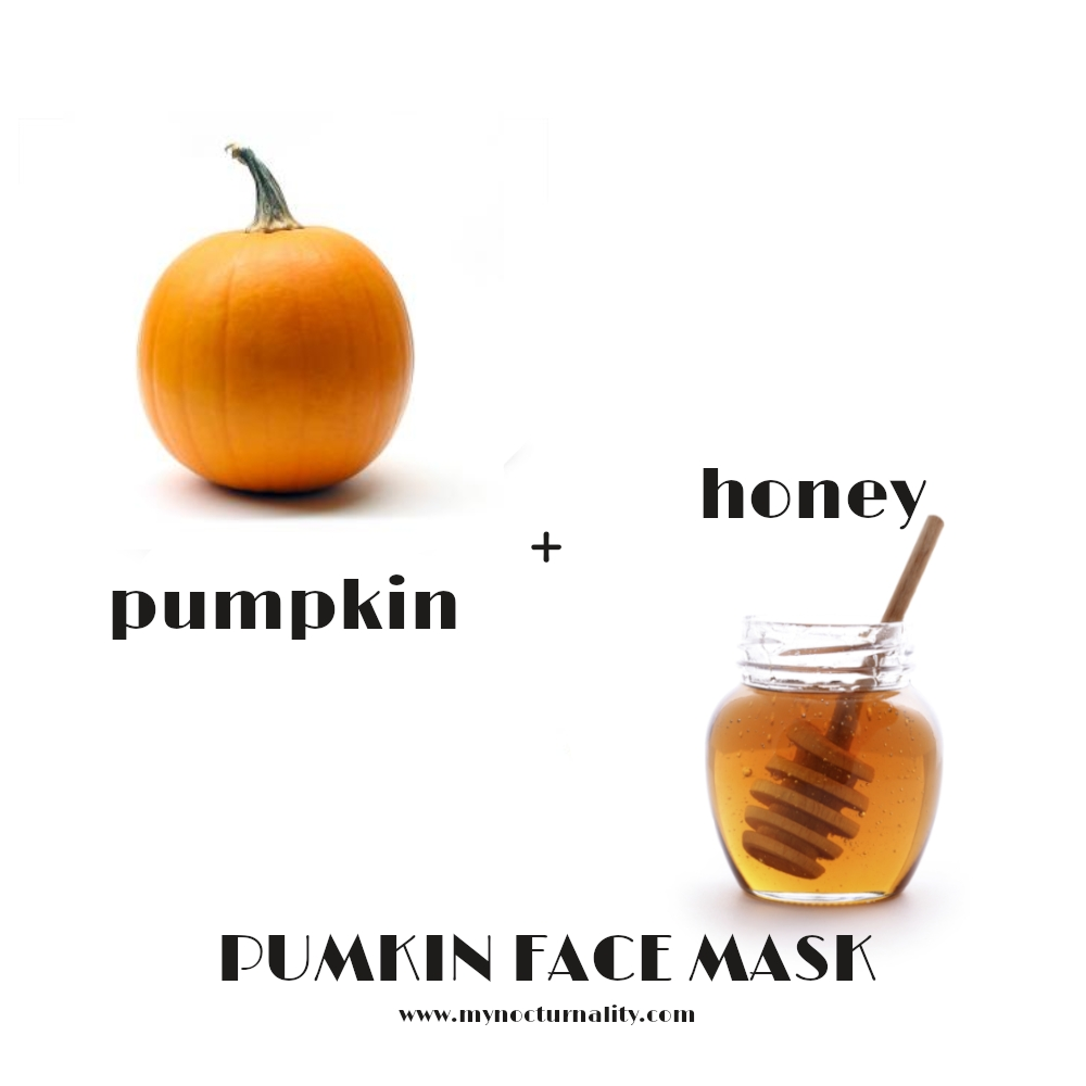 diy pumpkin and honey face mask natural skin care recipe