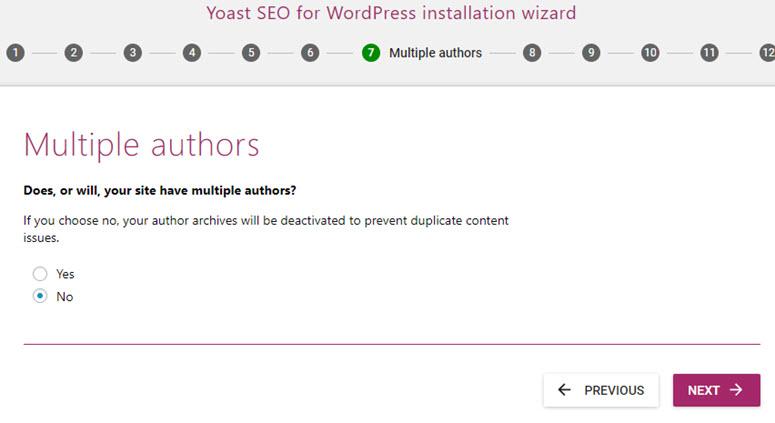 yoast seo banyak penulis