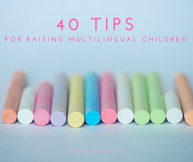 40 tips for raising multilingual children
