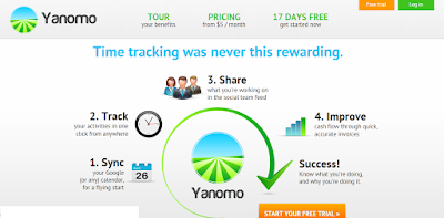 web based time tracking software yanomo