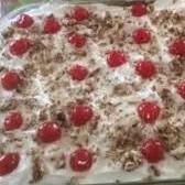 REFRIGERATOR BANANA SPLIT CAKE