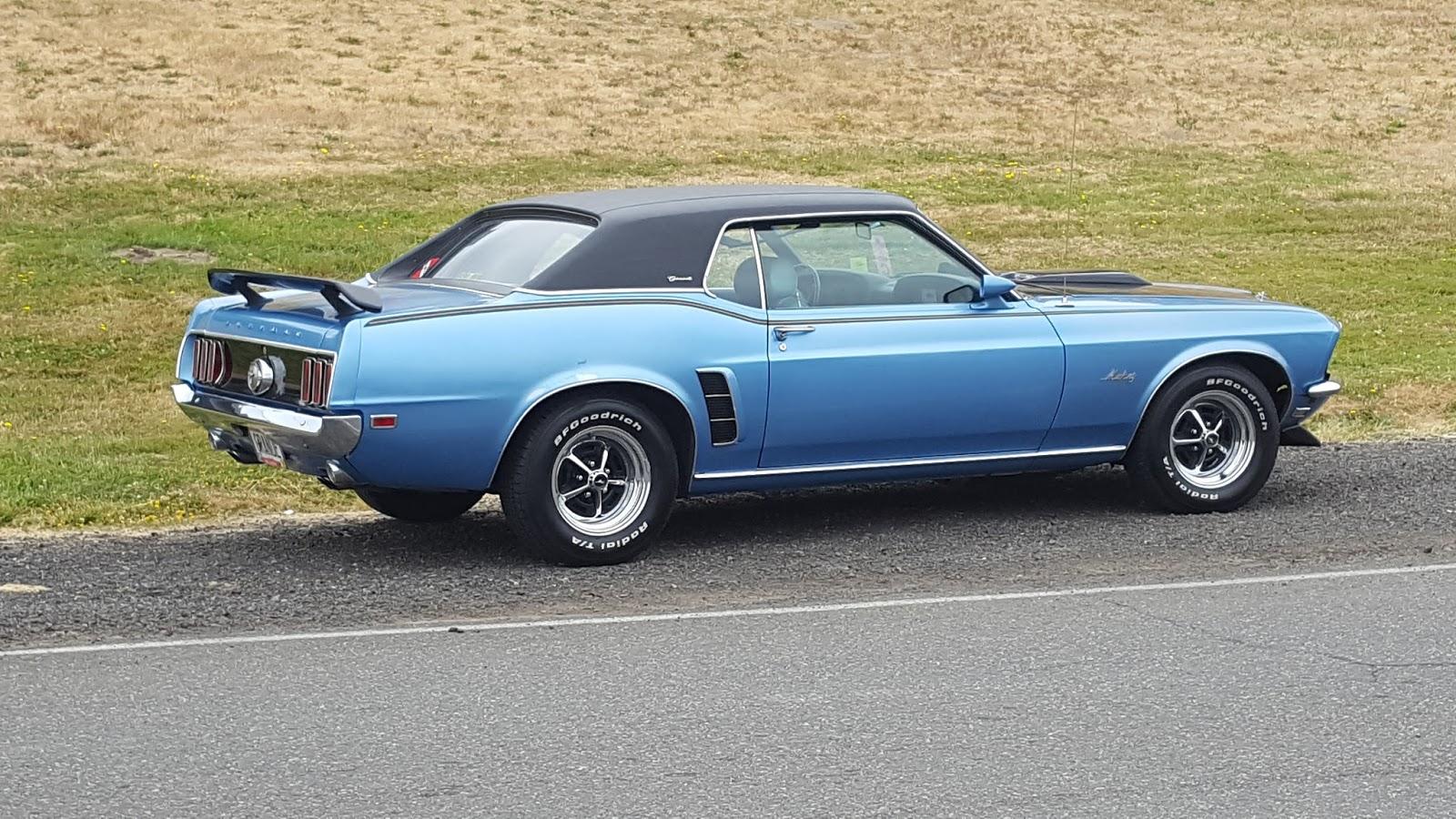 POPPA WHEELIE: '69 Mustang Coupe