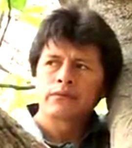 Rostro triste de Nicanor León