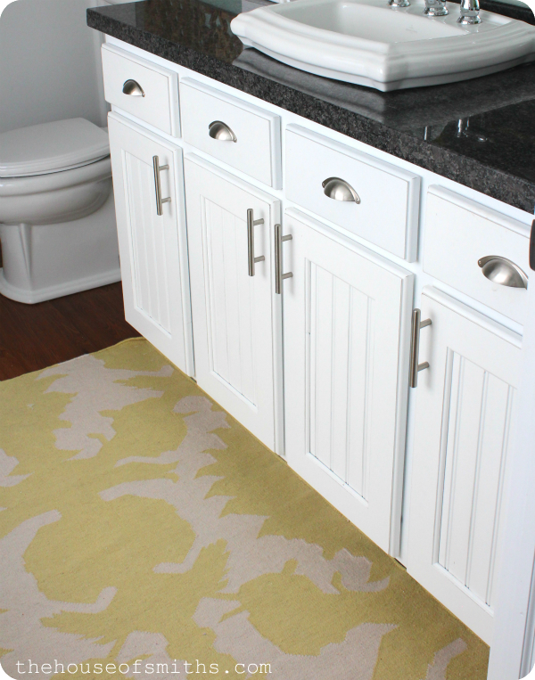 painting bathroom cabinets white master bathroom vanity makeover 873