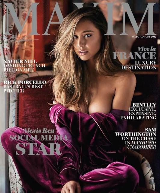 Alexis Ren, de reina de Instagram a portada de Maxim