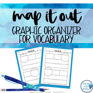 image link for vocabulary graphic organizer freebie