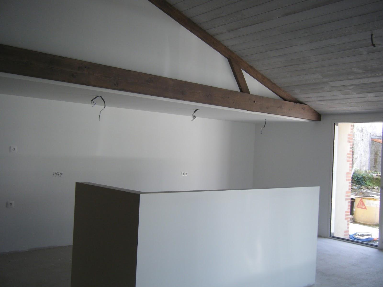 plafond de cuisine en lambris. Black Bedroom Furniture Sets. Home Design Ideas