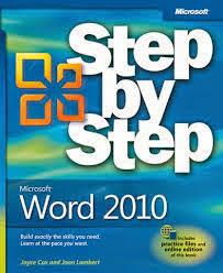 Microsoft Word 2010 Step by Step Free Download Pdf Book