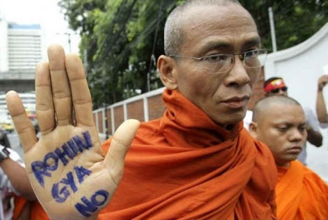 Keterlaluan! Sedang Rayakan Maulid Nabi, Umat Muslim Dibubarkan Kelompok Ekstremis Budha