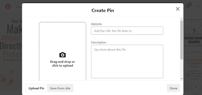 How to create Pinterest pin
