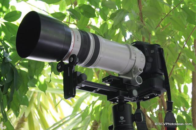 Long Lens Support Bracket for push-pull zoom lenses overview