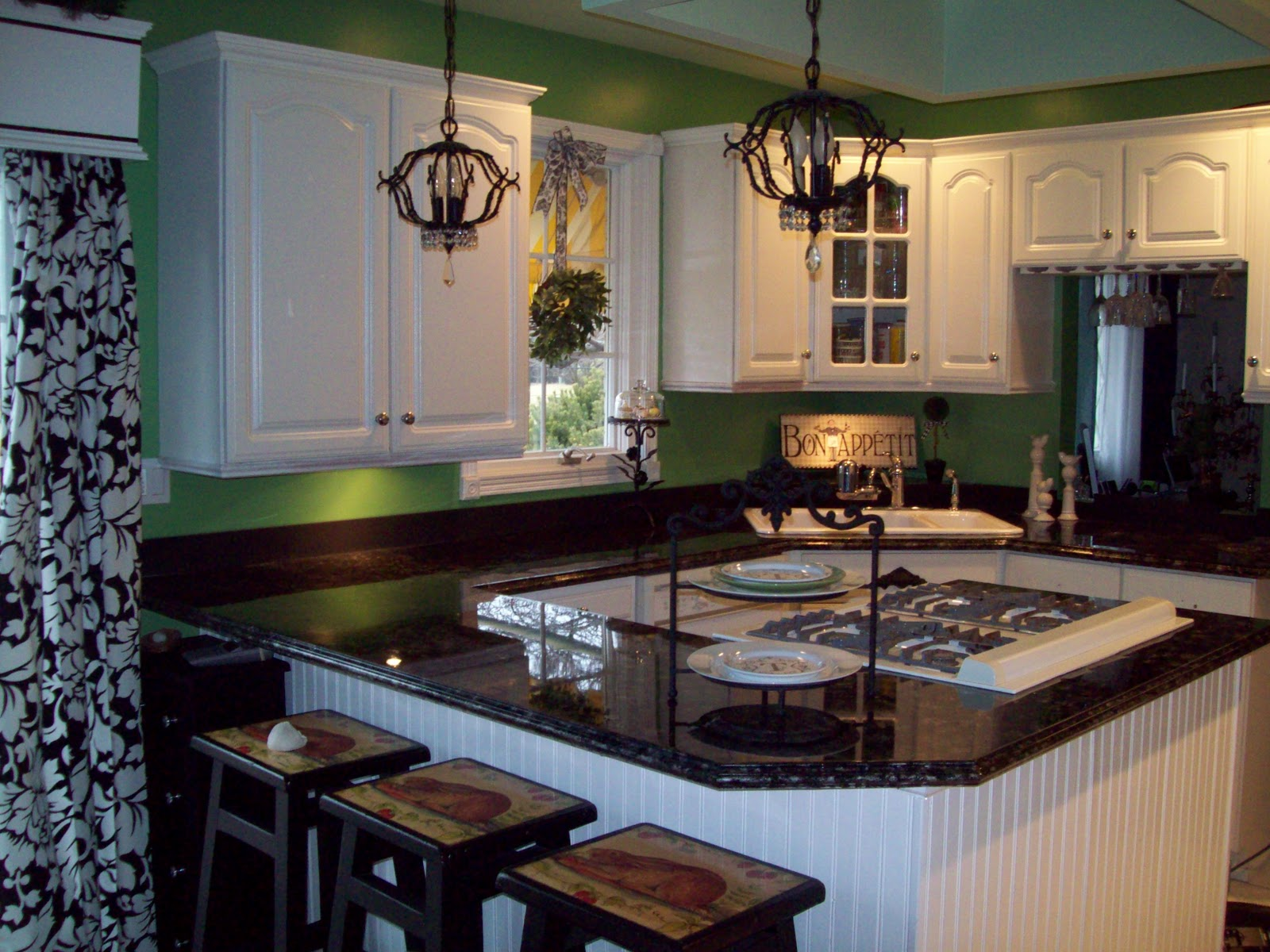 laminate countertops paint formica kitchen countertops Remodelaholic Painted Formica Countertop