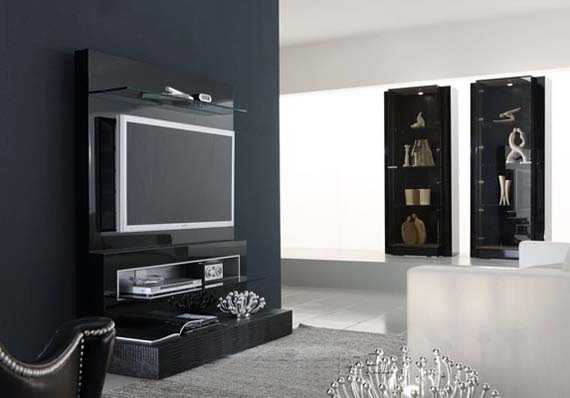 Contemporary Flat Panel TV Stand picture