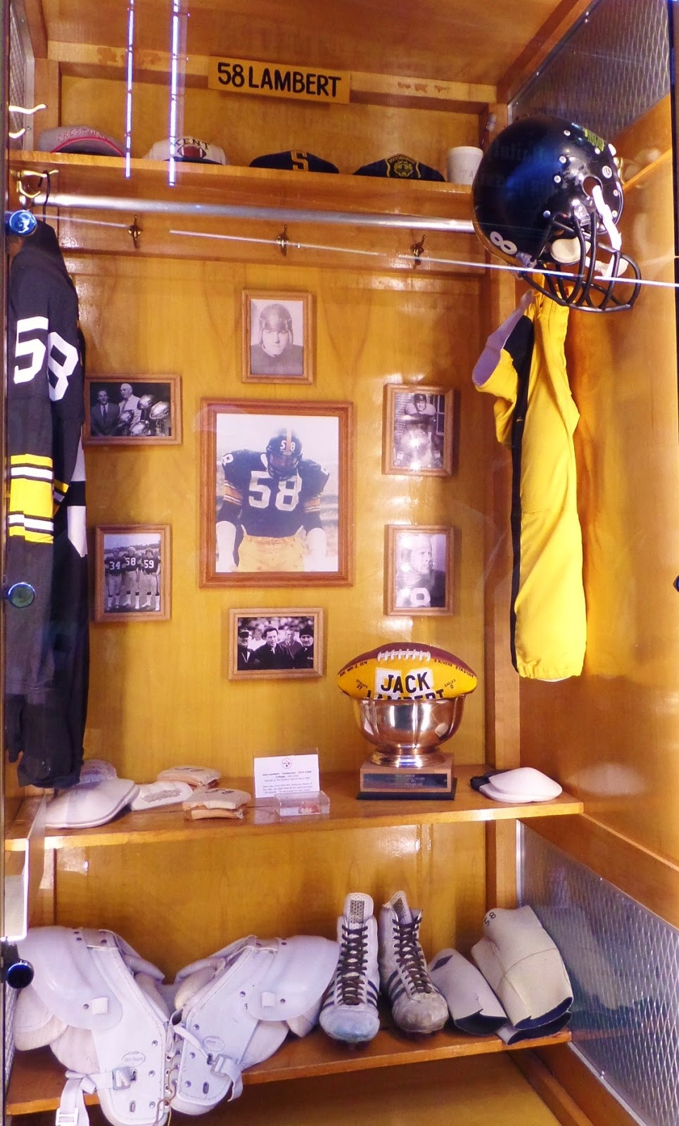 Jack Lambert Hall Of Fame Heinz Field