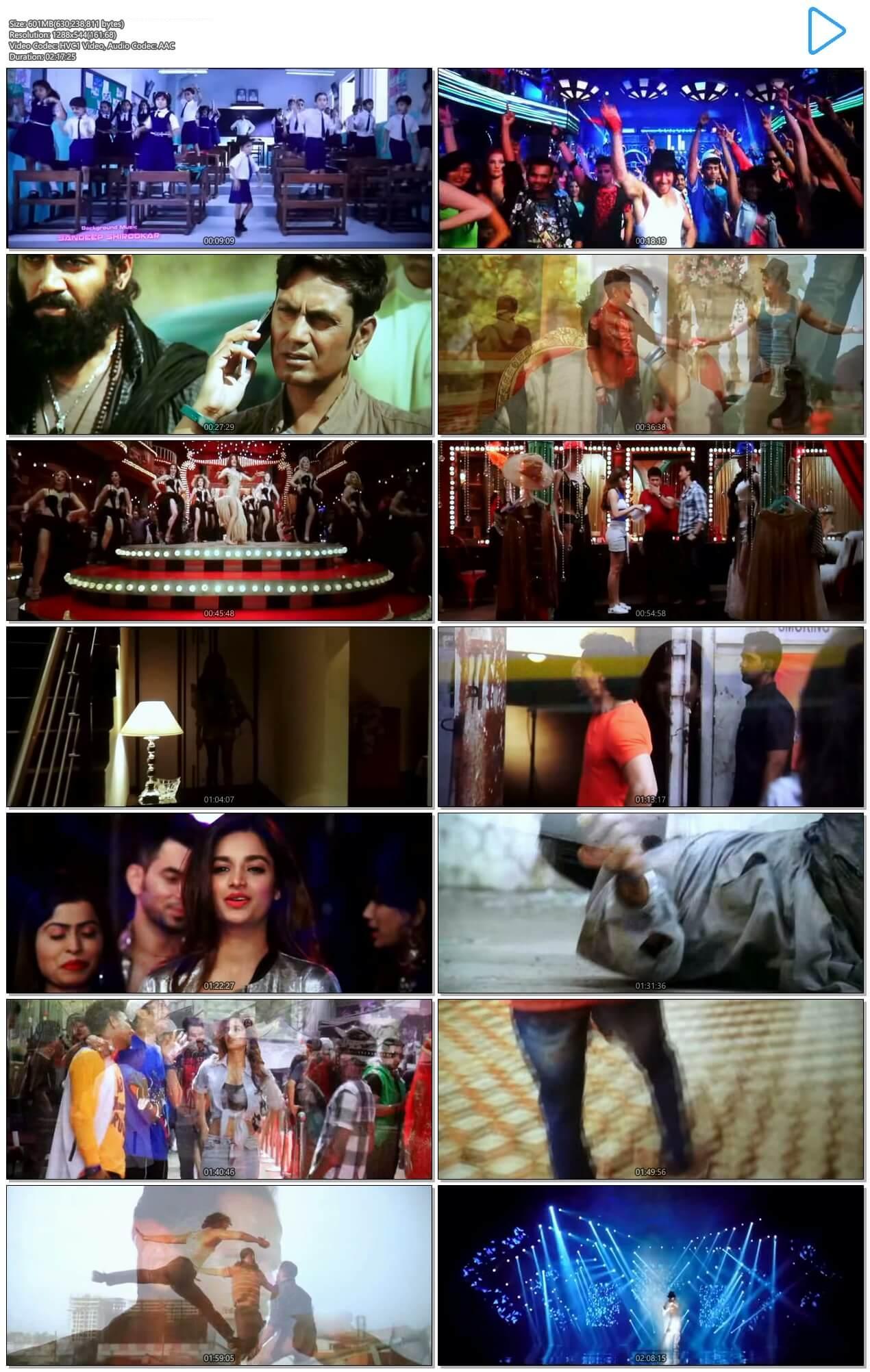Screen Shot Of Munna Michael  2017 Full Movie Free Download HD 720P Watch Online