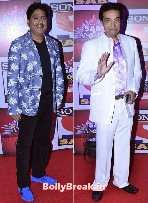 Shailesh Lodha and Dheeraj Kumar, SAB Ke Anokhe Awards Photo Gallery