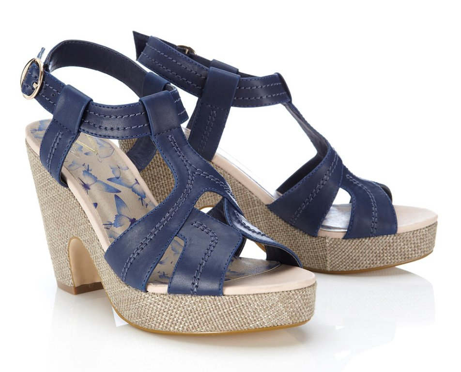 0894da67d30 Style Wedge Navy Shoes | Ladies Wedges Gallery